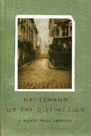 cover of Haussmann, or the Distinction